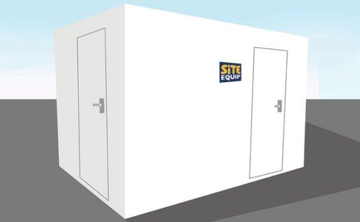 Mains Toilet Block Hire 2+1