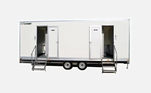 Toilet trailers for event hire