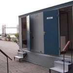3+2 ex hire toilet trailer for sale