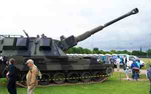 Army Show Toilet Hire
