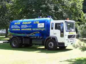 Tanker Emptying Cess Pits Liquid Waste Disposal
