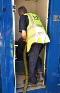 Portable Toilet Service Driver Job