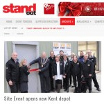 Site Event Opens New Kent Depot – Stand Out – November 2015