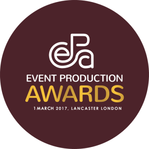 site event shortlisted for best toilets at the event production awards 2017