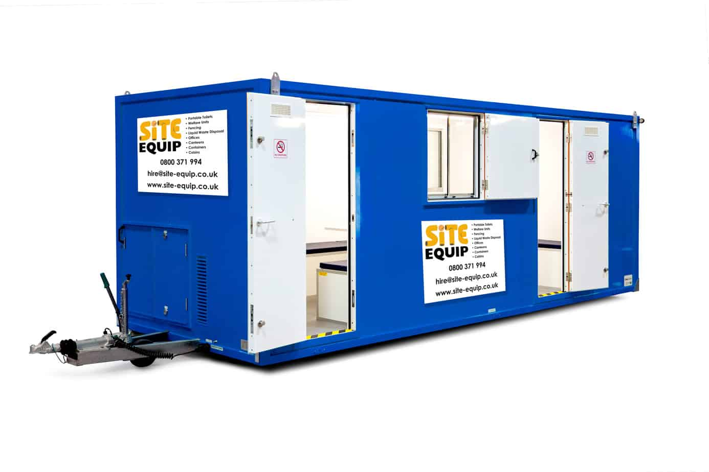 20 foot welfare unit hire