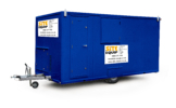 site equip 16ft high quality welfare unit