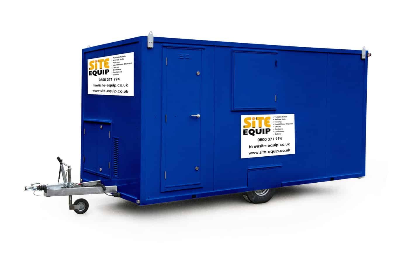Welfare Units 16 Foot
