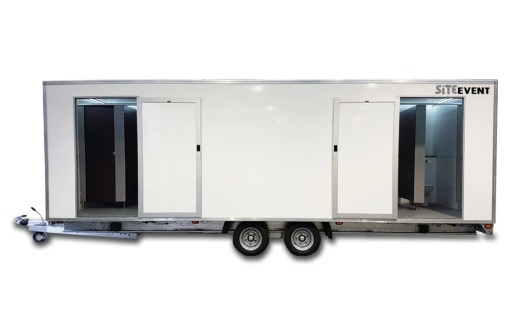 9 bay toilet trailer