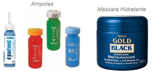 Faça hidratações com máscaras nutritivas e ampolas