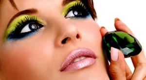 Foto ilustrativa de maquiagem adequada para a sua Primavera