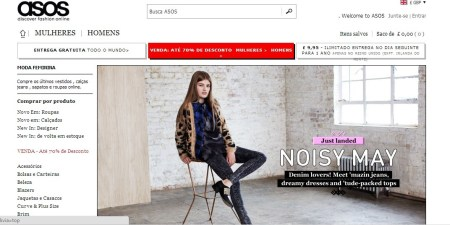 asos para comprar roupas online