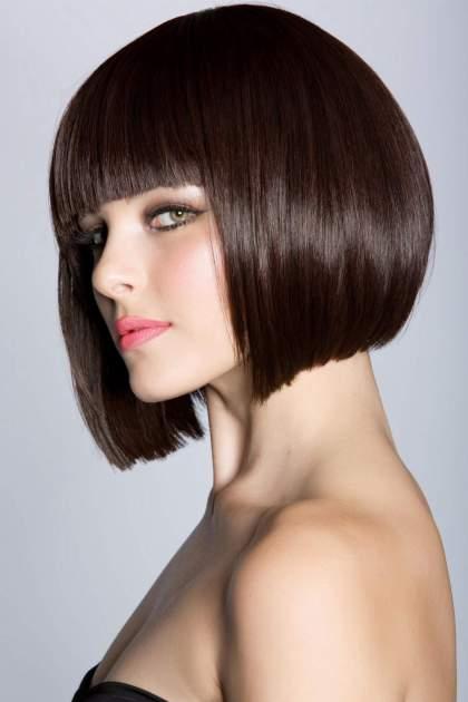 Corte de cabelo Blunt cut curto
