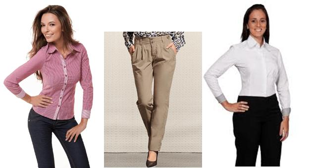 calças para entrevista de emprego
