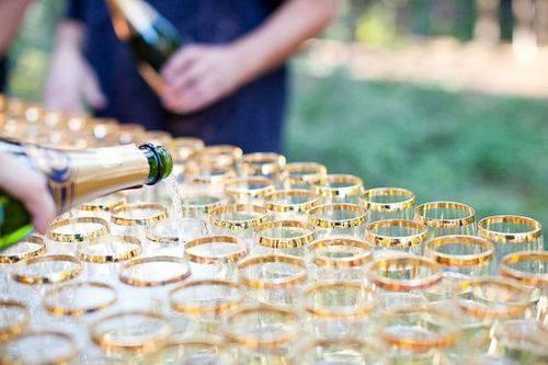 festa de casamento com economia