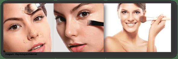 maquiagem para o dia - pele