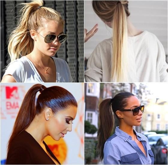 Rabo de Cavalo para evitar o Bad hair day