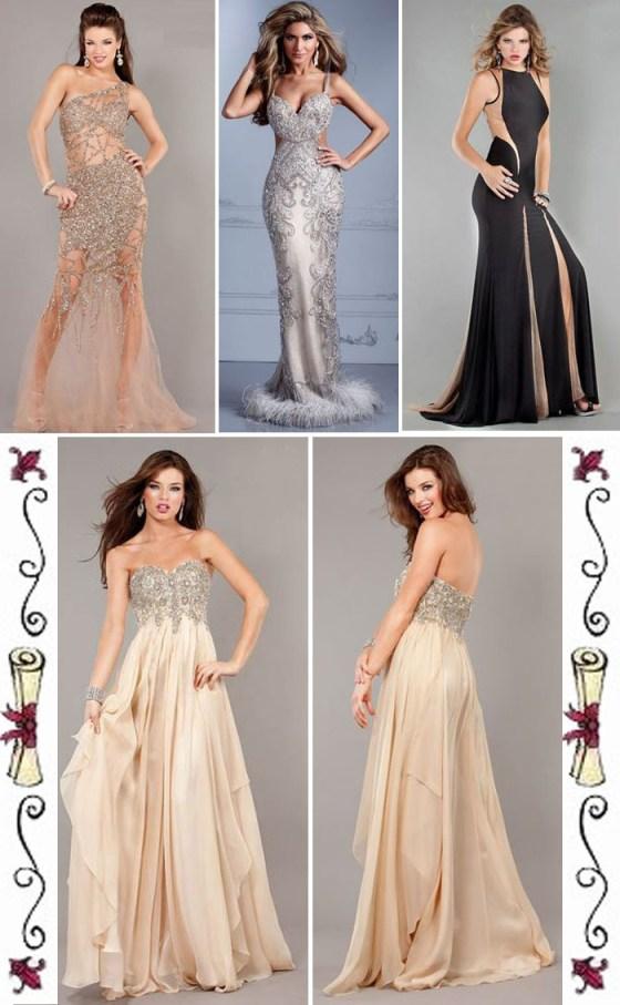 vestidos longos para formatura
