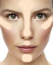 truque de maquiagem para afinar o rosto