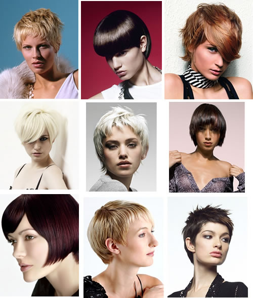 corte de cabelo curto