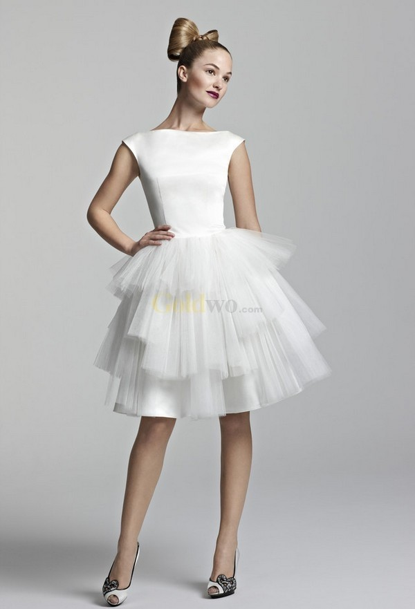 modelo de vestido de noiva curto