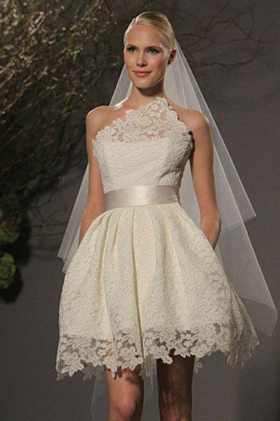 lindos vestidos de noiva curtos