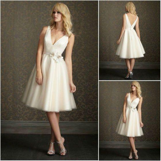 vestidos de noivas baixinhas