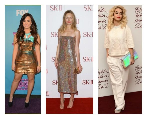 celebridades com holográficos