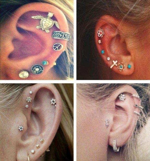 fotos de orelhas com ear bling