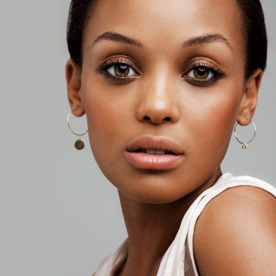 maquiagem certa para pele negra