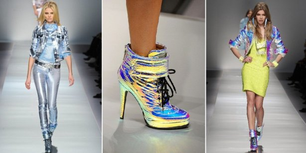 moda do efeito holográfico