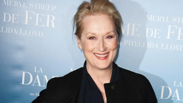 Meryl Streep também é contra cirurgia plástica