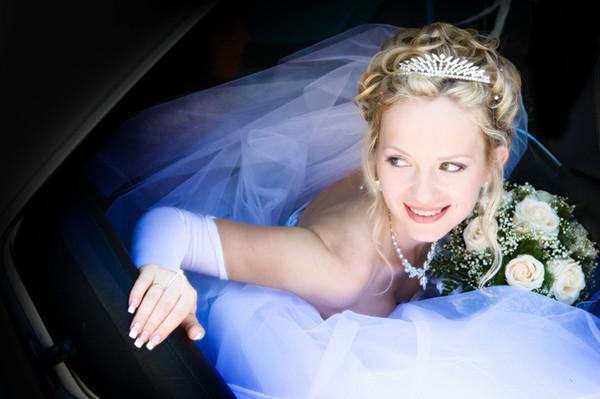 foto da noiva para o álbum de casamento