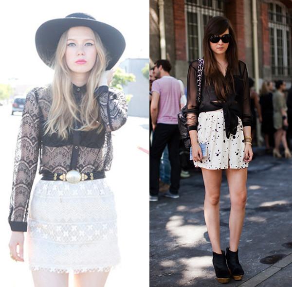 lingerie à mostra - tendência da moda 2014