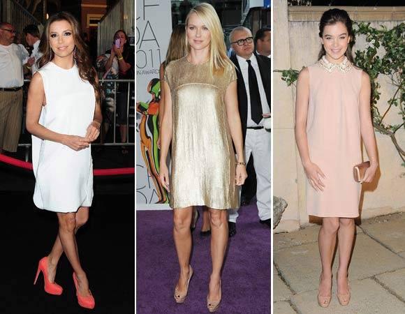 Shift Dress de famosas para inspirar
