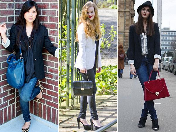 blazer é um dos casacos da moda inverno 2014