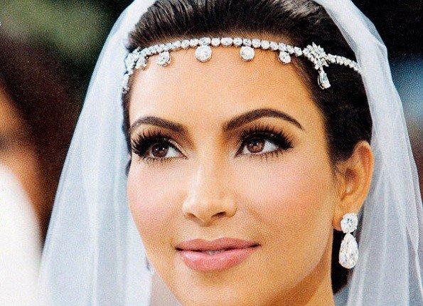 maquiagem para noiva que casou durante à noite
