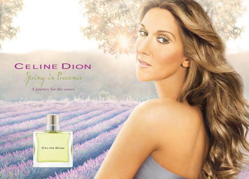 perfume Celine Dion da Celine Dion entre os perfumes mais vendidos do mundo