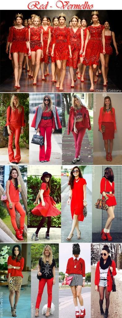 vermelho é uma das cores primárias