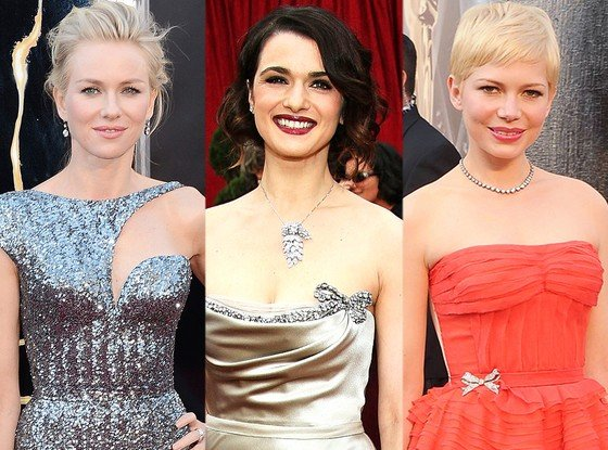 Naomi Watts Michelle Williams Rachel Weisz Oscar.