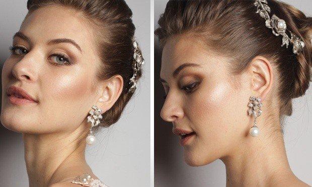 lindos Acessórios de cabelo para noivas
