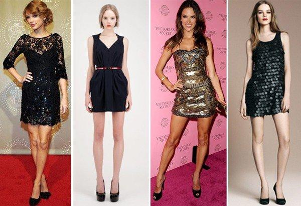 look moderno com vestido curto