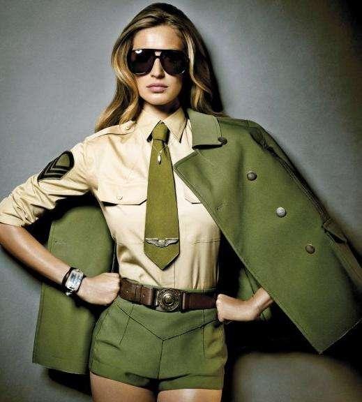 look militar coturno