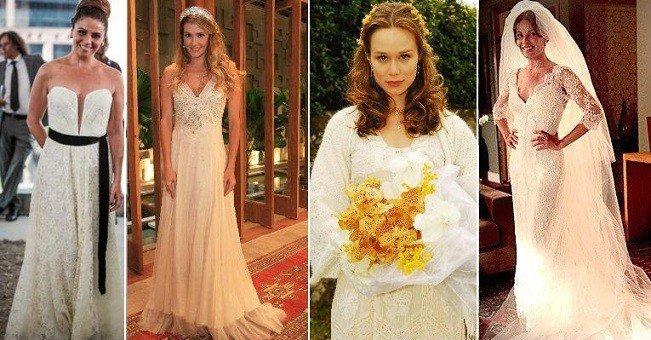 fotos de vestidos de noiva das novelas