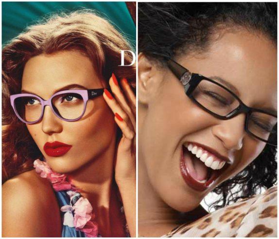 lindas armações de óculos