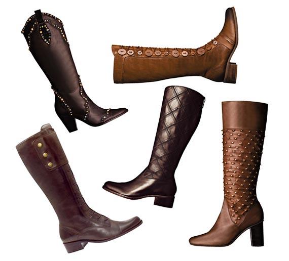 botas montaria na nona colocação entre os calçados favoritos