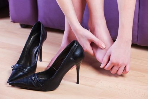 Calçados confortáveis