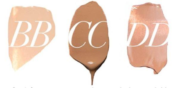BB Cream, CC Cream e DD Cream qual o melhor