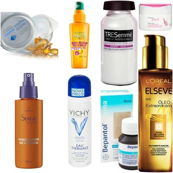 Itens de maquiagem e cuidados com os cabelos bons e baratos
