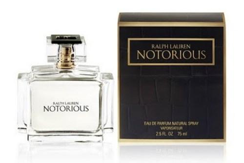 Notorious de Ralph Lauren está na sexta colocação de perfumes mais caros do mundo