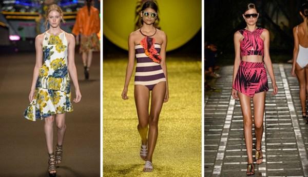 Tendências de moda para o verão 2015
